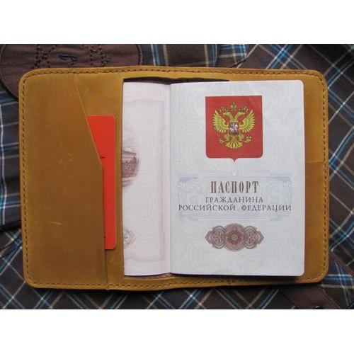 Обложка на паспорт «Не как у всех»